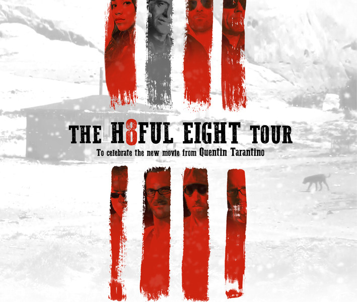 Reservoir Dogs Band Hateful Eight tour with George Baker!