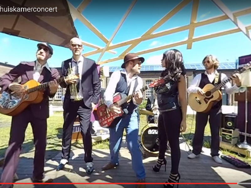 Reservoir Dogs Band at Mundial, Virtual reality!
