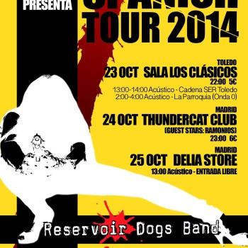 Spain tour 2014